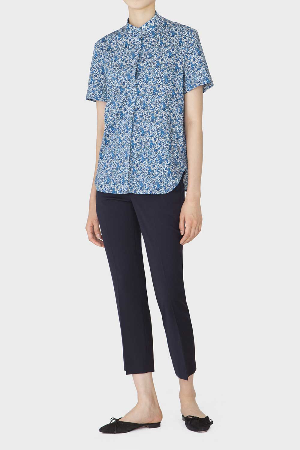 [COURRI x LIBERTY] KIS SHORTSLEEVE SHIRT