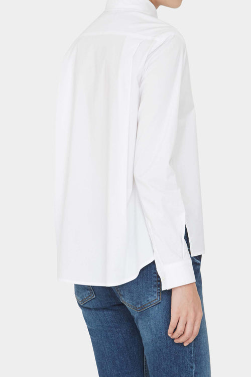 WHITE ELLEN TIDY SHIRT