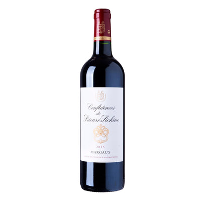 "Chateau PRIEURE-LICHINE Margaux ""Confidences De Prieure-Lichine"" 2015"