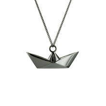 Boat Necklace - Origami Jewellery - THE POMMIER - 3
