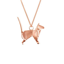 Cat Necklace - Origami Jewellery - THE POMMIER - 3