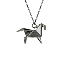 Horse Necklace - Origami Jewellery - THE POMMIER - 2