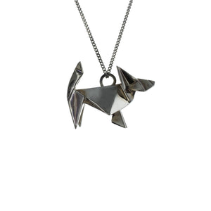 Dog Necklace - Origami Jewellery - THE POMMIER - 3