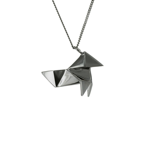 Cuckoo Necklace - Origami Jewellery - THE POMMIER - 1