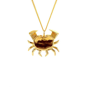 Crab Necklace - Origami Jewellery - THE POMMIER - 1