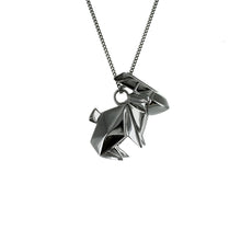 Rabbit Necklace - Origami Jewellery - THE POMMIER - 2