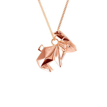 Rabbit Necklace - Origami Jewellery - THE POMMIER - 3