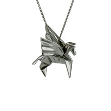 Pegasus Necklace - Origami Jewellery - THE POMMIER - 3