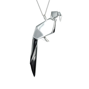 Parrot Necklace - Origami Jewellery - THE POMMIER - 4