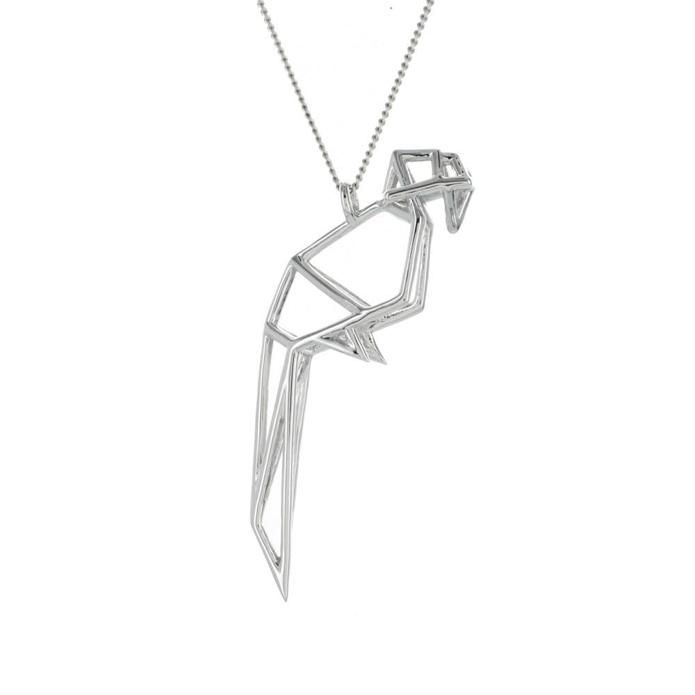 Frame Parrot Necklace