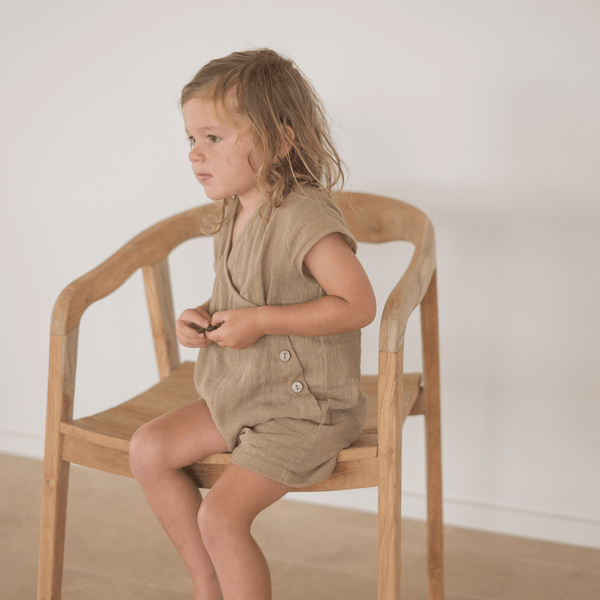 Soli overalls | Taupe