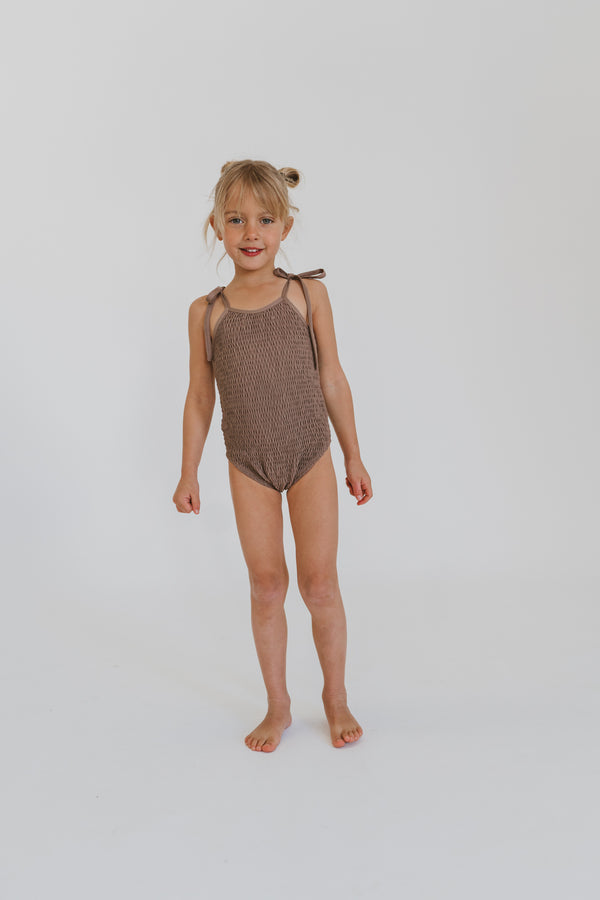 Meika bathers | Vintage Brown