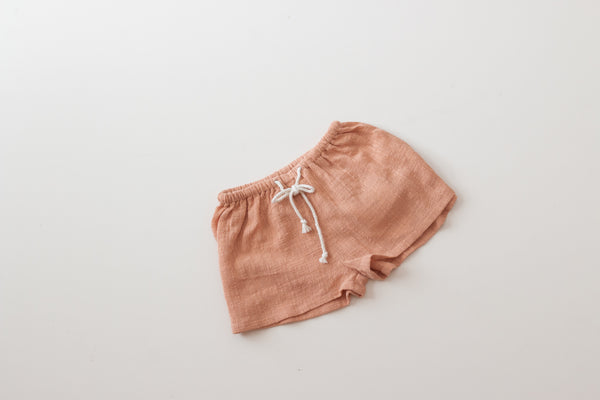 Thea Shorts - Terracotta