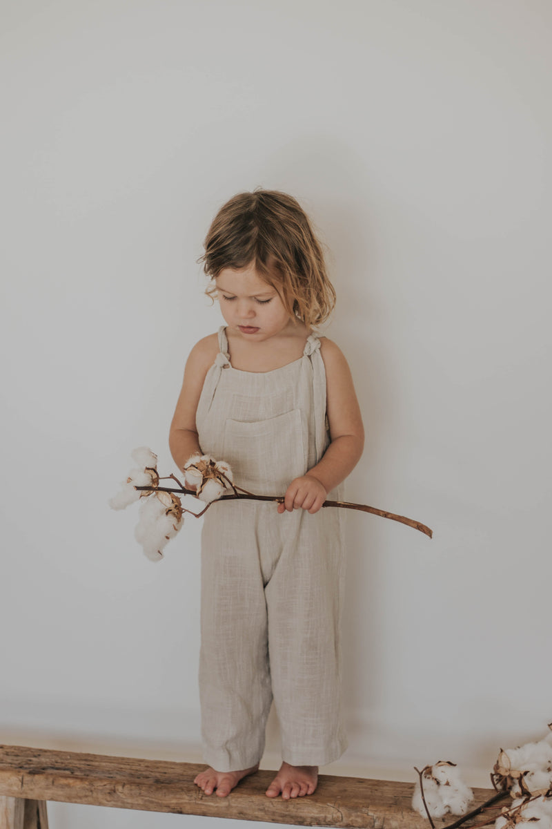 Marlow overalls | Natural