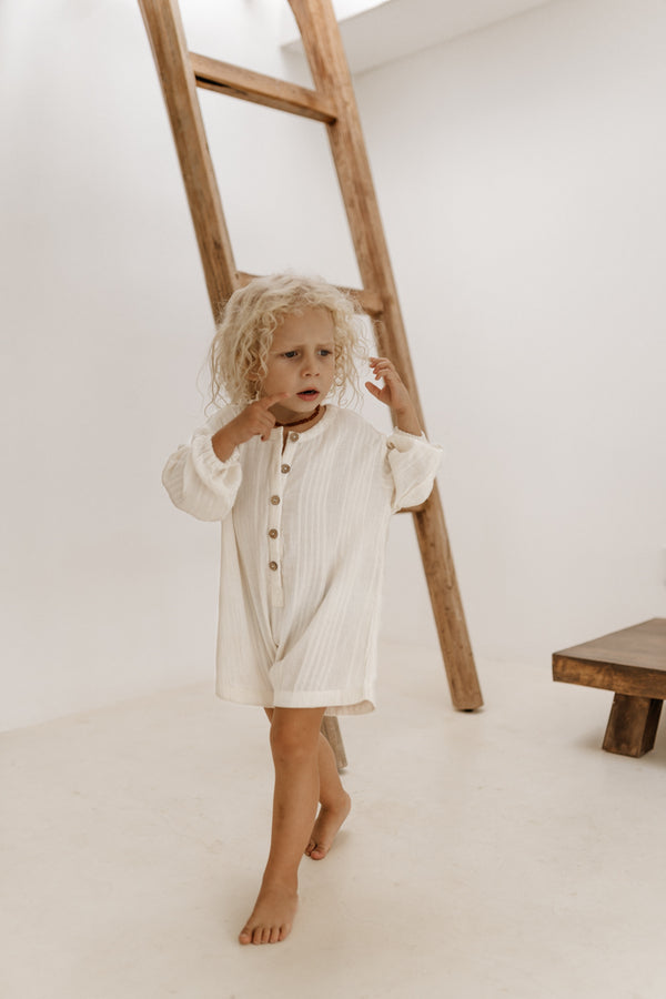 cotton children's romper