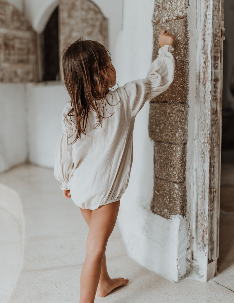 Meadow Romper | Oat