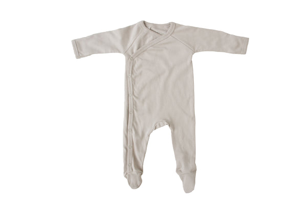 Footed romper | Soft Sage