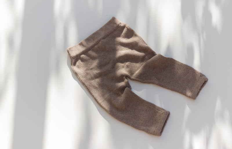 Essential knit pant | Mocha