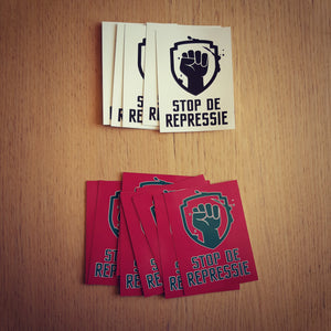 Set Stickers Rood/Groen