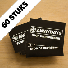 Set Stickers Awaydays - 60 stuks