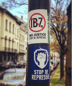 Set Stickers No Justice - 60 stuks