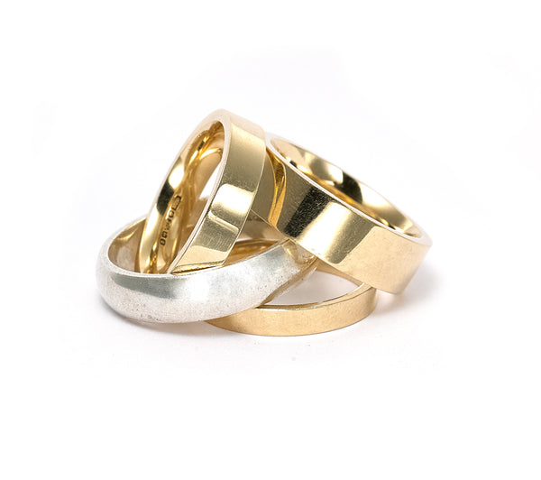Plain Wedding Rings - From £150