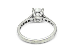 1.36ct Brilliant Cut Diamond Solitaire Engagement Ring 18Carat White Gold