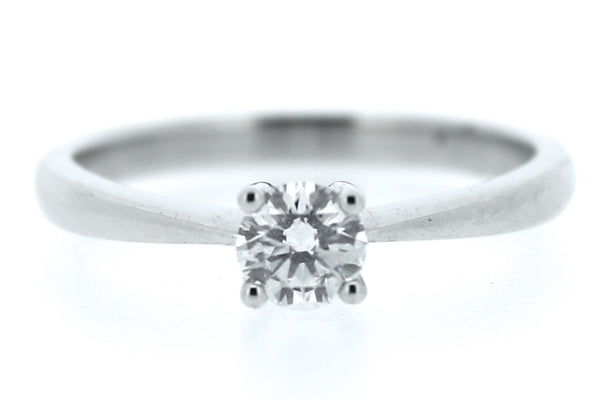 Brilliant Cut Diamond Solitaire Ring Platinum 0.50ct