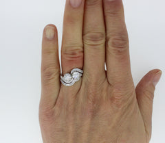 Handmade Wedding Rings Shaped to Fit Your Engagement Ring - From £650