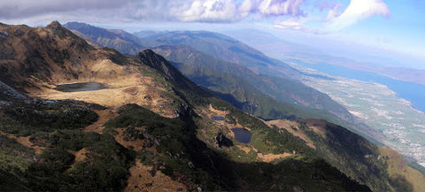 Cang mountains. Image from Yunnan Visitor Centre