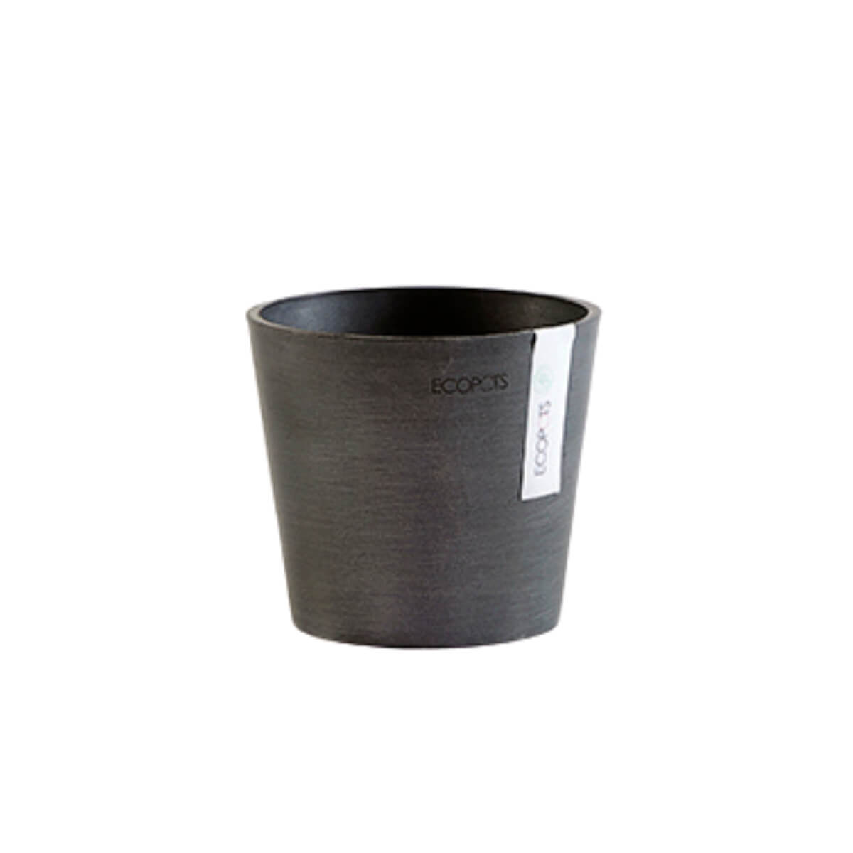 Medium Ecopots Amsterdam pot black