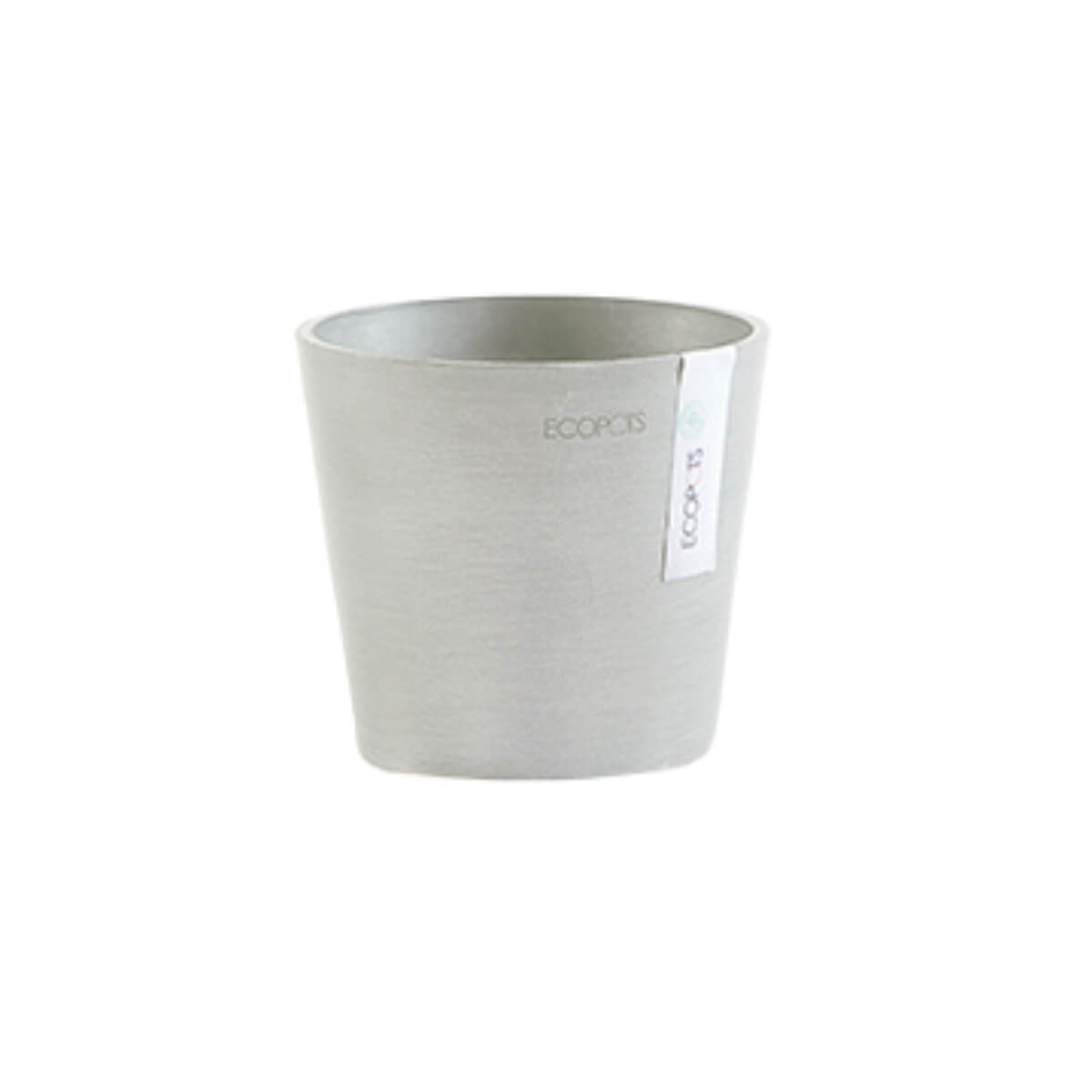 Medium Ecopots Amsterdam pot white