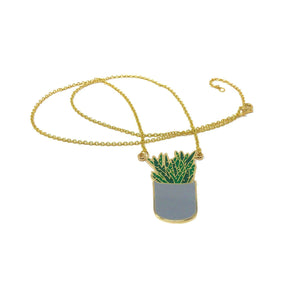 Aloe necklace