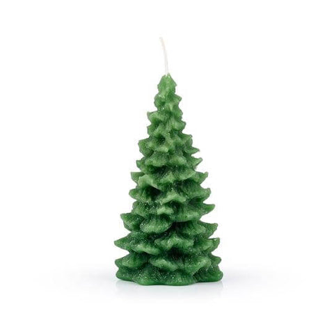 Green Christmas Tree candle
