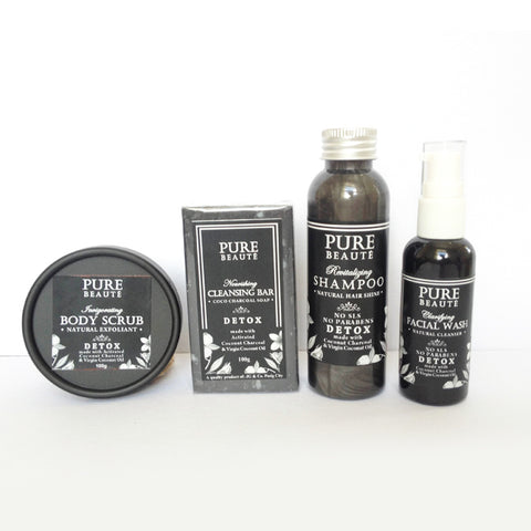 1 set Pure DETOX - 4 items (1 month use)