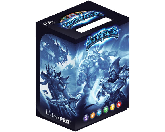 Lightseekers - Accessories - Deckbox - Blue Burst by UltraPRO