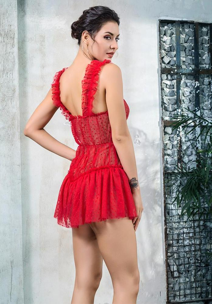 Tulip Lace Playsuit