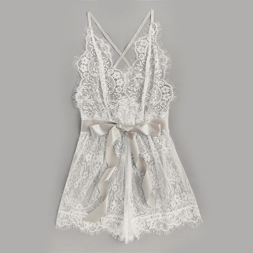 Snow Lace Babydoll
