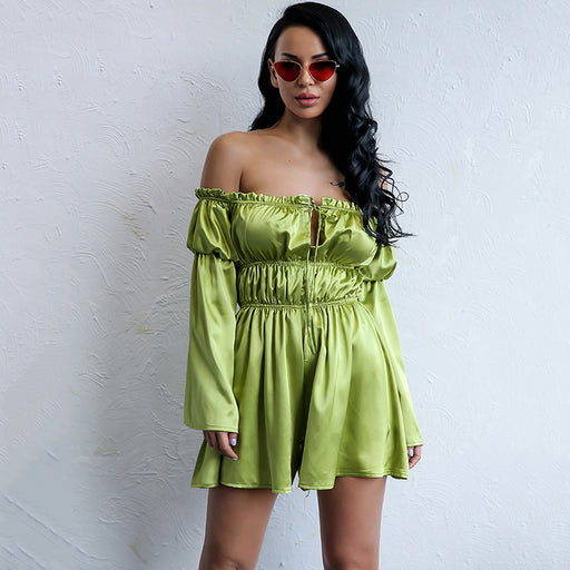 Serena Olive Playsuit