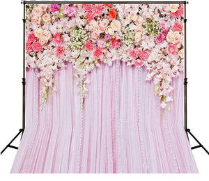 Wedding Flowers Photography Backdrops Party Stage Photo Backdrop