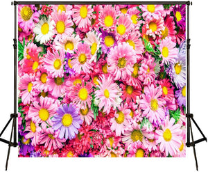 Floral Wedding Background Spring Scenery Backgrounds for Photo Studio