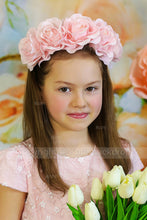 Floral not reflective printed children photography backdrop for photo studio