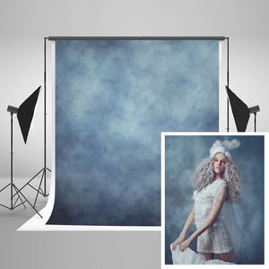 Solid Light Blue Hazy Indoor Photography Backdrop