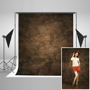 Retro Solid Brown Background  Photography Backdrops