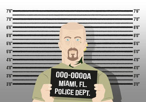 Mugshot Background Police Lineup Prop Photography Studio Backdrop