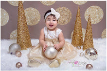 Gold Circle Printed Children & Newborn Photography Backdrops