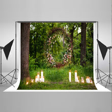 Forest Garden Photography background Spring Photo Backdrops