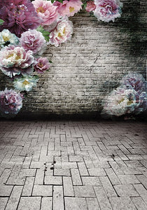 Digital Printing Background Blur Flowers Wall Photography Backdrops