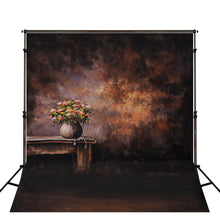 Abstract Solid Color Photography Backdrop With Chair Vase Backgrounds For Photo Studio Portraits