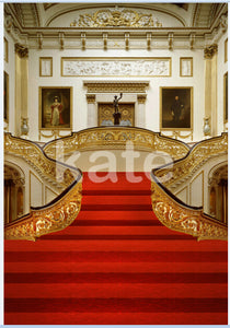 Stage & Hall Red Carpet Photography Backdrops For Wedding and Party